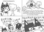 animal_crossing ankha anthro caprine cat comic english_text feline female goat male mammal monochrome mouse nintendo rodent text tree video_games   Rating: Safe  Score: 7  User: Juni221  Date: March 03, 2014