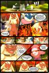 !!! 2014 ambiguous_gender amphibian anthro avian bird blaziken collar comic dialogue digital_media_(artwork) english_text fire greninja hi_res male mega_stone nintendo open_mouth outside pokémon redimplight spritzee standing substitute teeth text tongue video_games  Rating: Safe Score: 7 User: Mienshao Date: November 29, 2014