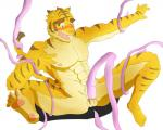 abs absurd_res anthro biceps big_muscles blue_eyes erection fangs feline forced fur hi_res male mammal morenatsu muscular muscular_male nipples nude open_mouth pecs penis pubes rape simple_background solo spread_legs spreading stripes teeth tentacle_rape tentacles tiger tongue torahiko_(morenatsu) けもけも(活動停止)  Rating: Explicit Score: 0 User: slyroon Date: December 27, 2015