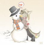 2005 <3 anthro ayato bell carrot cat christmas cute doing_it_wrong duo feline holidays male mammal snow snowman suggestive tail_bell   Rating: Safe  Score: 1  User: msc  Date: March 30, 2007