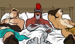 anthro bgn canine equine eyewear feet fidelis_(character) glasses group helmet horn male mammal nude timet unicorn valens_(character) wolf   Rating: Safe  Score: 1  User: Timet  Date: February 27, 2015