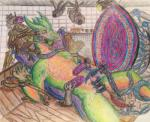 ball_gag camera dragon experiment feather gag hypnosis male mind_control penis ring scalie solo tickling torture traditional_media_(artwork) Æveirra   Rating: Explicit  Score: -1  User: Bantwolf509  Date: February 02, 2015
