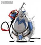 alternate_color chibineco male nintendo obese overweight pokémon shiny_pokémon solo video_games zangoose  Rating: Safe Score: 4 User: slyroon Date: February 11, 2015