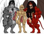 angel anthro balls big_balls canine demon dog feline hair kumbartha labrador lion male mammal muscles nipples nude pecs penis slave tigerwolf wolf wolfger wolfgerlion64   Rating: Explicit  Score: -5  User: Wolfgerlion  Date: March 25, 2015