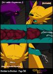 2014 anal anal_penetration balls bloodstone blush brother comic cum cum_in_ass cum_inside cum_while_penetrated duo english_text eyes_closed gem_(character) hands-free incest internal male male/male masturbation nintendo one_eye_closed orgasm penetration penis pokémon precum sableye sex shiny_pokémon sibling text vibrantechoes video_games wink   Rating: Explicit  Score: 14  User: RioluKid  Date: January 12, 2015