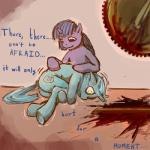 amber_eyes blood blood_stain creepy cutie_mark death dialogue duo english_text equine female friendship_is_magic frown fur gore green_fur grotesque_death hair horn horror horse kvernikovskiy long_hair lyra_heartstrings_(mlp) machine mammal mechanical multicolored_hair my_little_pony pony purple_eyes purple_fur purple_hair sawblade sitting smile text twilight_sparkle_(mlp) two_tone_hair unicorn yellow_eyes   Rating: Questionable  Score: 1  User: Deatron  Date: October 17, 2013