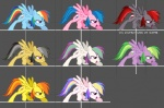 all_fours black_fur black_hair blonde_hair blossomforth_(mlp) blue_feathers blue_fur blue_hair brown_fur crossover cutie_mark daring_do_(mlp) equine fan_character feathers female feral fighting_is_magic firefly_(mlp) friendship_is_magic fur green_eyes green_hair grey_background hair holly_dash_(mlp) mammal mane6 multicolored_hair multiple_images my_little_pony orange_eyes orange_hair pegasus pink_eyes pink_fur purple_eyes purple_fur purple_hair rainbow_dash_(mlp) rainbow_fur rainbow_hair red_eyes red_hair simple_background solo spike_(mlp) spitfire_(mlp) two_tone_hair video_games white_fur wings wonderbolts_(mlp) yellow_fur  Rating: Safe Score: 1 User: kokonoe Date: December 25, 2012