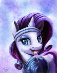2015 blue_eyes clothing cutie_mark equine eyelashes eyeshadow female feral friendship_is_magic fur hair headband horn long_hair makeup mammal my_little_pony nfl open_mouth purple_hair rarity_(mlp) solo teeth tsitra360 unicorn white_fur   Rating: Safe  Score: 9  User: lemongrab  Date: February 10, 2015