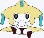 ambiguous_gender clothed clothing jirachi legendary_pokémon looking_at_viewer nintendo panties pokémon solo underwear unknown_artist video_games  Rating: Questionable Score: 4 User: Juni221 Date: August 10, 2015