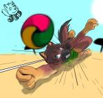 anthro beach beach_volley canine clothing cloud darkorange dog dora female game_(disambiguation) german_shepherd herseio mammal match outside playing sand seaside sky solo sun swimsuit volley_ball   Rating: Safe  Score: 4  User: LoganHat  Date: September 26, 2014