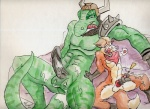 balls bed canine cum dinosaur erection fox fox_mccloud furfragged general_scales handjob male male/male mammal nintendo penis scalie sharpclaw star_fox video_games  Rating: Explicit Score: 0 User: malekrystal Date: May 02, 2016