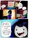 adventure_time big_breasts black_hair breasts clothed clothing comic duo english_text female finn_the_human hair human humanoid long_hair male mammal marceline not_furry open_mouth text the_humancopier_(artist) vampire  Rating: Questionable Score: 3 User: Mcnair32 Date: October 25, 2015