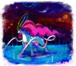 ambiguous_gender feral fur hair kori7hatsumine lake legendary_pokémon looking_at_viewer mammal meteor nintendo planet pokémon red_eyes solo space star suicune video_games water   Rating: Safe  Score: 3  User: Liat  Date: March 12, 2015