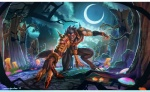 abs armor biceps blood brown_fur canine claws clothed clothing cloud corvuspointer fur glowing glowing_eyes half-dressed league_of_legends loincloth male mammal moon muscles night pecs red_eyes sky solo toe_claws topless video_games warwick were werewolf wolf   Rating: Safe  Score: 10  User: Der_Traubenfuchs  Date: February 20, 2013