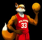 abs basketball canine clothing college elion fba fox jake_turner male mammal muscles pac pecs plain_background pose solo sport uniform wendingo   Rating: Safe  Score: 0  User: xes  Date: April 24, 2014