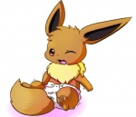 diaper eevee infantilism nintendo one_eye_closed pokémon spanking649 video_games wink   Rating: Safe  Score: 4  User: diaperlover555  Date: September 10, 2013