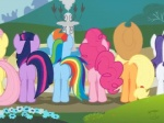 applejack_(mlp) blonde_hair butt earth_pony equine female feral fluttershy_(mlp) friendship_is_magic group hair horn horse mammal multicolored_hair my_little_pony niggerfaggot pegasus pink_hair pinkie_pie_(mlp) pony purple_hair rainbow_dash_(mlp) rainbow_hair rarity_(mlp) twilight_sparkle_(mlp) two_tone_hair unicorn wings  Rating: Safe Score: 0 User: Robinebra Date: February 10, 2013