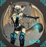 blue_eyes cable cat clothing cyan_eyes cyberpunk dragon elbow_gloves feline female front_view fur furred_dragon garter_belt gloves glowing horn hybrid kace leather lights luckypan mammal membranous_wings piercing pinup pose power_button power_symbol rubber scalie seductive shiny shorts siamese solo spread_wings standing textured_background unzipped wings zipper  Rating: Questionable Score: 10 User: Kiboe Date: July 06, 2009