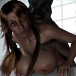 3d bestiality big_breasts breasts canine canis3 dog duo female feral forced fur german_shepherd hair human interspecies mammal merilyn nude rape sex  Rating: Explicit Score: 4 User: Canis3 Date: May 29, 2015