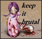 ambiguous_gender blood chainsaw doll english_text female gore hair long_hair looking_at_viewer nightmare_fuel purple_hair shoes slippers smile text tiny unknown_artist weapon white_eyes young   Rating: Questionable  Score: 0  User: fuzzydoor  Date: January 06, 2013
