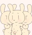 animated black_nose blush chubby group lagomorph male mammal navel open_mouth penis rabbit smile tongue watermelon_(artist)  Rating: Explicit Score: 0 User: JGG3 Date: July 06, 2015""