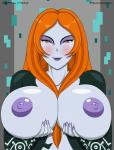 2015 animated areola big_breasts blush bouncing_breasts breasts digital_media_(artwork) erect_nipples evov1 female half-length_portrait humanoid looking_at_viewer midna midna_(human) nintendo nipples no_sound not_furry nude smile solo the_legend_of_zelda twili twilight_princess video_games  Rating: Questionable Score: 23 User: Robinebra Date: October 15, 2015