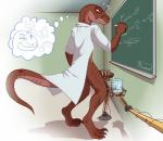 anthro chalkboard classroom clothing cum cum_milking dawmino dinosaur equations erection handjob labcoat machine male math mechanical penis penis_milking precum raptor robot scales scalie scientist talons   Rating: Explicit  Score: 24  User: Dawmino  Date: December 01, 2014