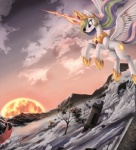 animated equine female feral friendship_is_magic horn mammal my_little_pony ponykillerx princess princess_celestia_(mlp) royalty winged_unicorn wings  Rating: Safe Score: 3 User: gfjkbdgfbg459yu4 Date: February 01, 2013