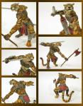 anthro axe feline figurine fur hi_res male mammal melee_weapon papo solo tiger toy unknown_artist warrior weapon  Rating: Safe Score: 2 User: slyroon Date: January 01, 2016