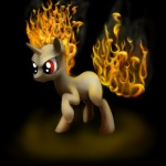 2012 angry black_background equine female feral fire flaming_hair friendship_is_magic fur hair hi_res horn mammal my_little_pony red_eyes simple_background solo tres-apples twilight_sparkle_(mlp) unicorn white_fur  Rating: Safe Score: 3 User: Sods Date: November 12, 2012