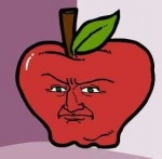 apple food fruit low_res male not_furry reaction_image shmorky solo something_awful what why