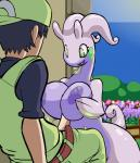 animated anthro big_breasts blue_nipples breasts duo female goodra green_eyes human interspecies male mammal nintendo nipples penis pokémon pokémorph poképhilia sex slime spikeshi titfuck video_games   Rating: Explicit  Score: 39  User: Juni221  Date: June 22, 2014
