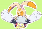 2013 cream_the_rabbit female freeflyspecter klonoa male plain_background sega sonic_(series)   Rating: Safe  Score: 4  User: Flyhigher2  Date: January 11, 2013