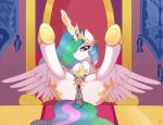 2015 absurd_res anatomically_correct anatomically_correct_pussy animal_genitalia anus blush butt cutie_mark dock equine equine_pussy female feral friendship_is_magic glowing hair hi_res horn legs_up long_hair looking_at_viewer magic mammal multicolored_hair my_little_pony presenting princess_celestia_(mlp) pussy ratofdrawn smile solo spread_legs spread_pussy spreading teats winged_unicorn wings  Rating: Explicit Score: 40 User: lemongrab Date: July 22, 2015