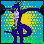 anthro balls blue_dragon dragon drake_(species) erection male penis precum strong tenecayr tenecayr_(artist) underwear   Rating: Explicit  Score: 5  User: Tenecayr  Date: June 20, 2013