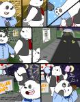 2015 anthro bear black_fur blush bow_tie clothing comic cute date dialogue door drawing duo english_text eyes_closed flower food fur graft_(artist) house ice_bear love male male/male mammal moon multicolored_fur necktie panda panda_(character) plant polar_bear restaurant smile sparkles star teeth text tree two_tone_fur we_bare_bears white_fur  Rating: Safe Score: 5 User: zidanes123 Date: October 02, 2015