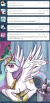 <3 ask_princess_molestia blue_hair blush crown cutie_mark equine eyewear feathered_wings feathers female feral friendship_is_magic hair hat hi_res horn john_joseco mammal multicolored_hair my_little_pony pink_hair princess princess_celestia_(mlp) purple_eyes purple_hair royalty solo sun sunglasses tiara tumblr white_feathers wing_boner winged_unicorn wings  Rating: Safe Score: 21 User: Dogenzaka Date: October 15, 2011
