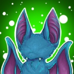 ambiguous_gender bat fangs green_background low_res mammal membranous_wings multicolored_body nintendo pokémon pokémon_(species) simple_background solo soulwithin video_games wings zubat