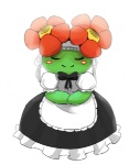 bellossom blush blush_(artist) female joltik_(artist) maid maid_uniform nintendo pokémon video_games   Rating: Safe  Score: 4  User: Juni221  Date: April 08, 2013
