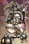 anthro bob-omb bomb bowser explosives koopa machine male mario_bros mecha nintendo not_furry robot scalie unknown_artist video_games  Rating: Safe Score: 3 User: cookiekangaroo Date: January 13, 2012