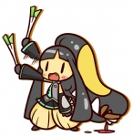 black_eyes black_hair blood blush clothing concave_(artist) cosplay crossover death eating farfetch'd feathers female hair hatsune_miku humor leek mawile necktie nintendo open_mouth pokémon simple_background skirt solo teeth video_games vocaloid  Rating: Questionable Score: 4 User: DeltaFlame Date: October 18, 2014