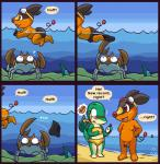 aliasing anthro anthrofied arthropod assisted_exposure balls barefoot beach blush butt clothed clothing comic conditional_dnp crab crustacean dialogue duo english_text eyewear female feral flaccid flat_chested goggles goggles_on_forehead green_body grumpyvulpix hands_on_hips hi_res krabby looking_at_penis male mammal marine nintendo nude oblivious open_mouth orange_body outside penis pictographics pig pokémon pokémorph porcine public public_nudity reptile scalie seaside signature small_penis snake snivy sound_effects speech_bubble speedo standing stare swimming swimsuit tepig text uncut underwater video_games wardrobe_malfunction water youngRating: ExplicitScore: 34User: CirceusDate: March 30, 2016
