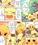 brother_and_sister comic crying dayan duo female forest hug incest kemono male nintendo outside pichu pikachu pokémon sibling tears translated tree video_games   Rating: Questionable  Score: 1  User: KemonoLover96  Date: February 03, 2015