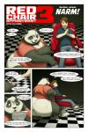 bear black_fur black_nose blue_eyes border bottomless brown_eyes brown_hair butt chair clothed clothing comic dialogue duo english_text female fur gillpanda hair hi_res human male mammal multicolored_fur open_mouth overweight panda pawpads sharp_teeth teeth text transformation two_tone_fur white_border white_fur  Rating: Questionable Score: 8 User: HotUnderTheCollar Date: January 21, 2016