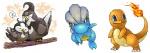 ambiguous_gender bagon charmander fire flaming_tail group nintendo orange_skin pokémon simple_background spring_bane staravia starly video_games white_backgroundRating: SafeScore: 2User: RiversydeDate: October 27, 2010