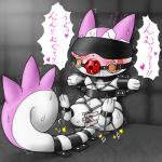 <3 agnaktor_(pixiv) ball_gag bdsm blindfold blush bondage bound double_penetration drooling female feral fur gag hindpaw japanese_text mammal nintendo pachirisu paws penetration pink_fur pokémon pussy_juice rodent rope_bondage saliva sex_toy solo spread_legs spreading squirrel sweat tears text translation_request video_games white_fur   Rating: Explicit  Score: 2  User: Hydr0  Date: February 09, 2015