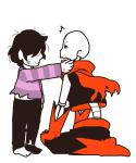 ... bone clothing comic human male mamaito mammal monster papyrus simple_background skeleton text underfell undertale video_games white_background  Rating: Safe Score: 4 User: normal_jam Date: November 27, 2015