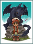 arthropod butterfly cute dragon fish hiccup_(httyd) how_to_train_your_dragon human insect marine night_fury rock toothless tsaoshin   Rating: Safe  Score: 5  User: NaughtyPenguin  Date: March 03, 2014