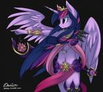 anthro crown daxhie equine female friendship_is_magic fur hair horn horse long_hair mammal my_little_pony pony smile star tumblr twilight_sparkle_(mlp) winged_unicorn wings   Rating: Safe  Score: 23  User: Daxhie  Date: November 07, 2014