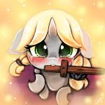changeling crying cub cute equine fan_character female hair horn lumineko mammal my_little_pony solo tears young  Rating: Safe Score: 14 User: lumineko Date: August 14, 2015